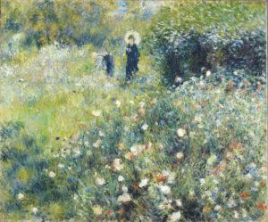 RENOIR, Pierre-Auguste_Mujer con sombrilla en un jardín_724 (1974.43)