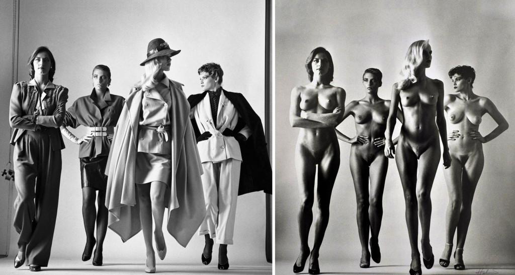 El desnudo es circunstancial...