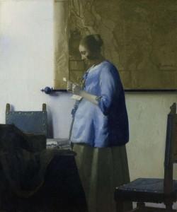 Lectora en Azul. Johannes Vermeer. Rijksmuseum