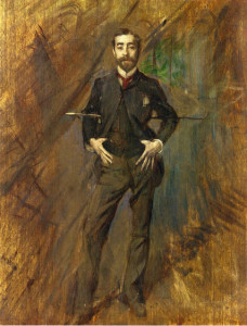 John Singer Sargent by Giovanni Boldini