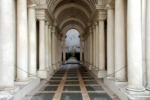 Palazzo Spada galería de Borromini