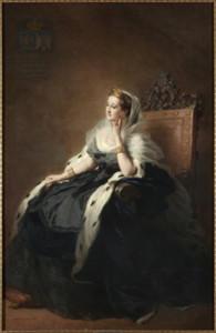 Eugenia de Montijo por Franz Xaver Winterhalter