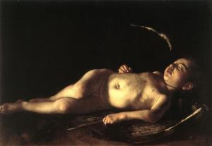 Cupido duerme y este ser mitológico es completamente real (Caravaggio)