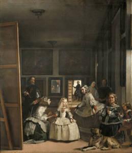 Las meninas en el Museo del Prado