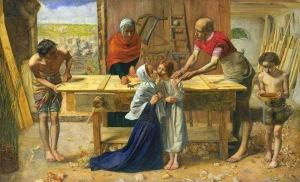Cristo en casa de sus padres, Millais