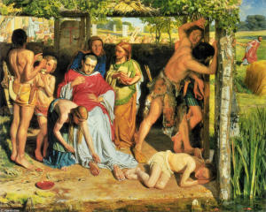William-Holman-Hunt-A-Converted-British-Family-Sheltering-a-Christian-Missionary-from-the-Persecution-of-the-Druids