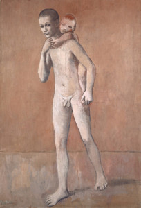 Pablo Picasso (1881–1973); Les deux frères; Frühsommer 1906 (Gósol)