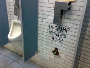"""si """"La fuente"""" de Duchamp es arte, ¿Esta ingeniosa referencia también podría serlo?"""