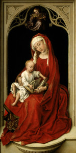 Rogier_van_der_Weyden_-_Virgin_and_Child_(Durán_Madonna)_-_Prado_P02722