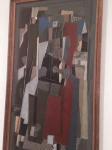 El Músico de Braque, 1918