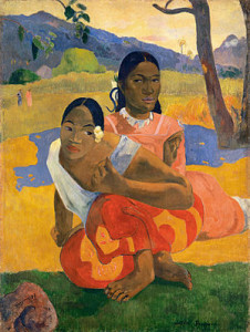 Paul_Gauguin,_Nafea_Faa_Ipoipo__(When_Will_You_Marry_)_1892,_oil_on_canvas,_101_x_77_cm