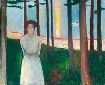 Agonizar bajo el pincel de Munch