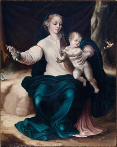 La Virgen del pajarito