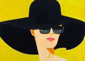 Sombrero Alex Katz en El faro de Hopper