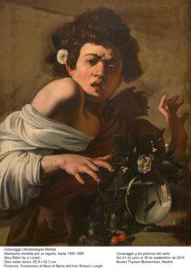 El poder del gesto! por Caravaggio