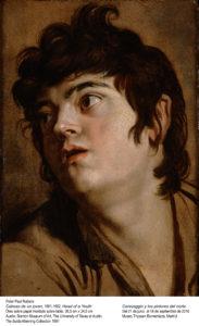 Rubens al estilo Caravaggio ¡maravilloso!
