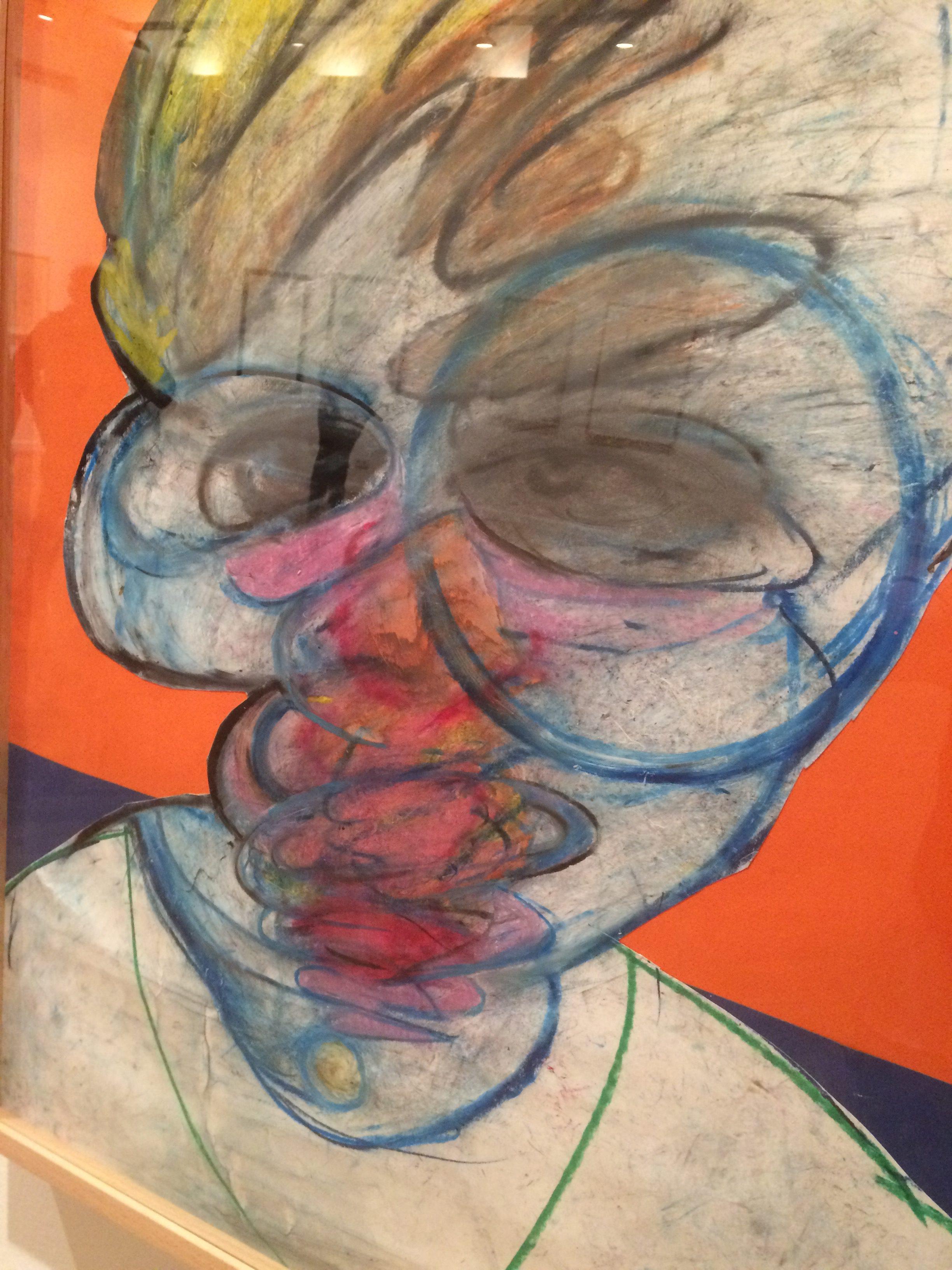 Francis Bacon…lápiz, pastel y amistad