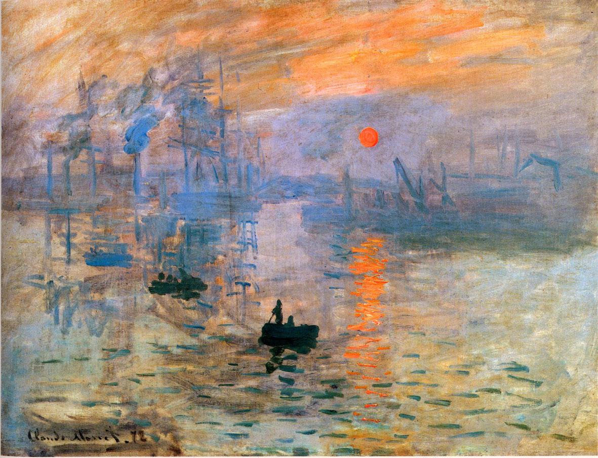 """Lo bello de la vida – (cap 1) El Amenecer  – """"Impresión, sol naciente"""" Claude Monet"""