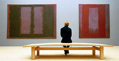 """""""Lo bello de la vida"""" (cap 11) -íntimo y personal- """"Verde sobre morado, 1961"""" Mark Rothko"""