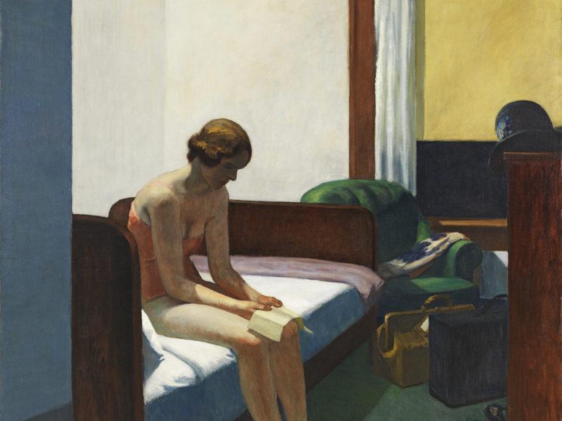 """""""Lo bello de la vida"""" (cap 17) Leer , pero a dúo- Con Vermeer y Hopper"""