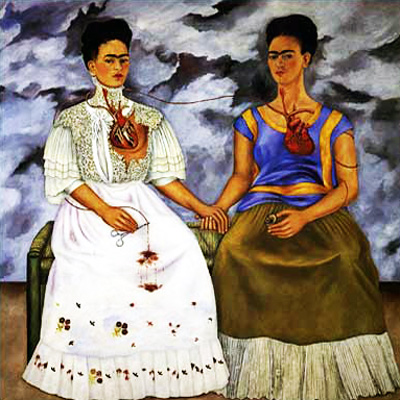 Rojo, azul, blanco, ¡Frida!, los colores de su realidad