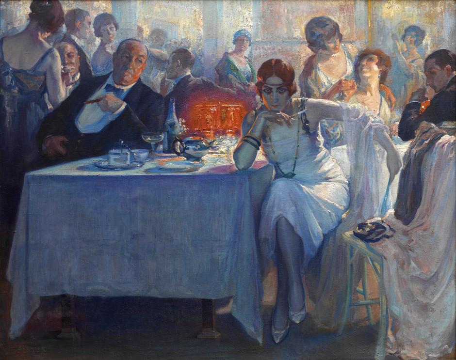 """Falenas"" 1920 Carlos Verger Fiorett"